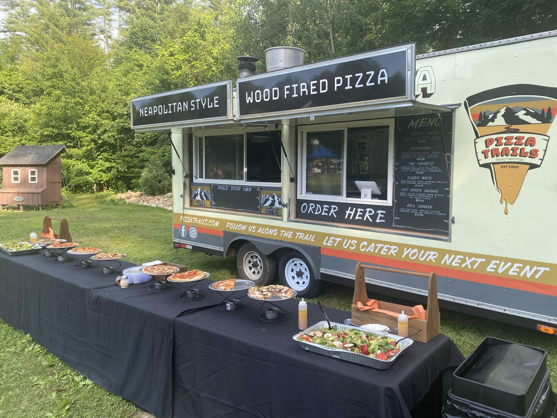 Pizza Trails Catering